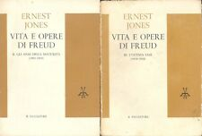 Jones Vita e opere di Freud Vol II  Maturità e Vol III Ultima fase, Saggiatore