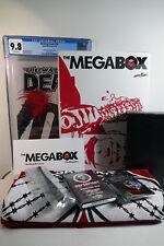 WALKING DEAD #100 CGC 9.8 Megabox Exclusive + Entire Megabox Contents Skybound