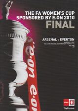 WOMENS FA CUP FINAL 2010 ARSENAL v EVERTON MINT PROGRAMME