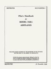 McDONNELL F2H BANSHEE - PILOT'S HANDBOOK & HANDBOOK STRUCTURAL REPAIR