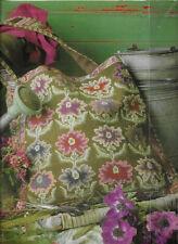 Kaffe Fassett Flower Shoulder Bag Needlepoint Tapestry Chart in Colour
