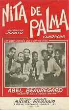 Partitions Accordéon / Jonato / EL PAÕ DE ASSUCAR / NITA DE PALMA / 1954