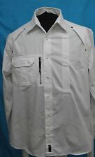 Mens stylish Rocawear Medium white long sleeve shirt