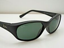 Authentic Ray-Ban RB2016 DADDY-O W2578 Matte Black Green Classic Sunglasses