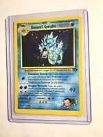 Giovanni's Gyarados - 5/132 - Gym Challenge - Holo - Pokemon Card - EXC/NM