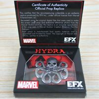 Marvel Captain America HYDRA Lapel Pin Badge Replica EFX Collectibles Loot Crate