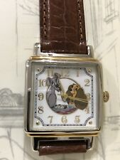 NIB 1993 FOSSIL DISNEY LIMITED ED. LADY AND THE TRAMP COLLECTORS CLUB WATCH