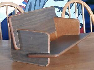 Vintage Mid Century Modern Formwood Book Trough Stand Modernist