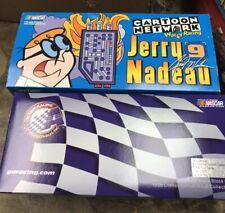 1999 Action Wacky Racing JERRY NADEAU #9 Cartoon Network Dexter NASCAR Diecast