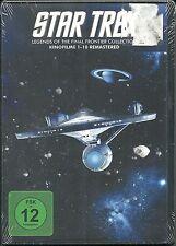 Star Trek Legends of the Final Frontier Col. (StarTrek 1-10)  Deutsch Neu OVP S
