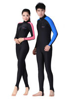 Adult Unisex Wetsuit S/M/L/XL For Swimming Diving Long Sleeve Wetsuit 2 Colours