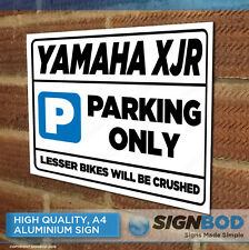 YAMAHA XJR  Owner Parking Metal Sign Gift - Birthday Present