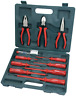 Electricians Screwdriver Plier Tool Set Electrical Fully Insulated 11PCS + Case