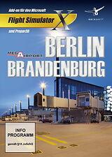 Mega Airport Berlin-Brandenburg (PC, 2014, DVD-Box) Flight Simulator X & P3D