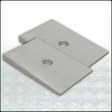 LAND ROVER SERIES 2/3- Leaf Spring Castor Correction Plate Set 16mm pin (DA1212)