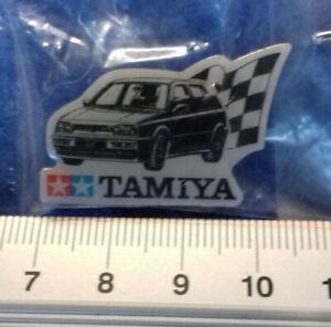 Anstecker Pin VW-Golf Tamiya neunziger Jahre