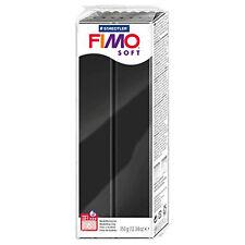 Staedtler FIMO Oven Hardening SOFT MODELLING CLAY Black 350g 0390029FIMOB 110°C