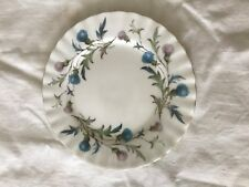 Royal Albert Bone China England 'Brigadoon' Saucer Gold Gilt Trim