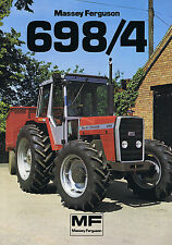 ▬►Prospectus Tracteur MASSEY FERGUSON MF 698/4 Prospect Tractor Traktor