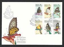 MACAU 1985 Butterflies First Day Cover - Very Nice Item! (Nov 629)