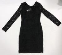 Just Cavalli Lace Black Dress Size 42 UK 10 *REF90