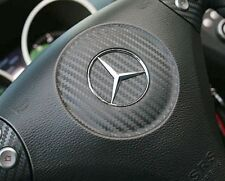 Mercedes Benz SLK R171 280 200 350 AMG Brabus Lenkrad Logo Carbon Folie Tuning