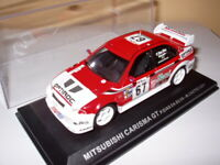 RPT6M voiture 1/43 IXO Rallye PORTUGAL  MITSUBISHI Carisma GT Dias/Da silva 2001