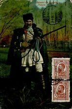 IMR00617b salutari din romania padurar forester rifle folk costume types ethnics