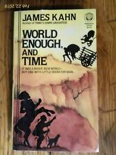 World Enough, And Time by James Kahn 1980, Paperback