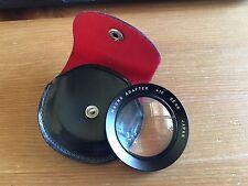 Vivitar +10 Macro Adapter 55mm - Made in Japan