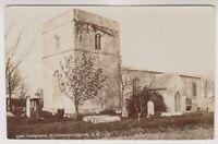 Lincolnshire postcard - Skegness, St Clements Church - RP (A348)