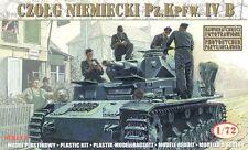 German Tank Pz.Kpfw. IV Ausf. B '21 Panzerdiv., MIRAGE HOBBY 728052,SCALE 1/72