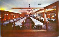 Falmouth MA Smiths Old Surrey Room Interior View Night Club 1950s Postcard