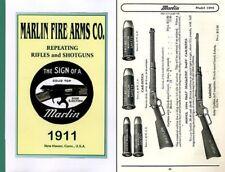 Marlin 1911 Fire Arms Company Gun Catalog