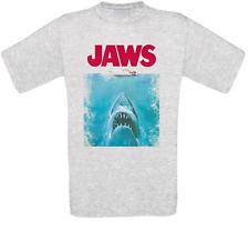 Jaws Weiße Hai Weisse Hai Shark Kult Movie T-Shirt alle Größen NEU