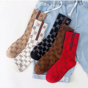 5 Pairs Ladies Women Knitted Cotton Casual Sport Running Socks Breathable UK