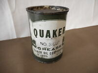 QUAKER No. 3 Cup 1 LB Grease ST. LOUIS , MO USA Used AS IS Mechanic Shop Farm