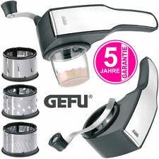 Gefu Pecorino Laser Cut Edelstahl Trommelreibe Nussmühle Küchen Parmesan Reibe