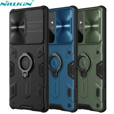 For Samsung Galaxy S21 Ultra Note 20 Nillkin Camera Lens Slide Cover Ring Case