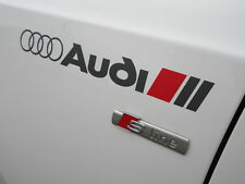For AUDI  SPORT STICKERS, GRAPHICS,WING,CUSTOM,S LINE, A3,OTHERS AVAILABLE