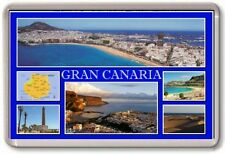FRIDGE MAGNET - GRAN CANARIA - Large - Spain TOURIST