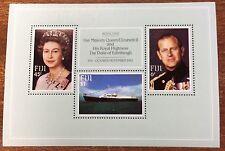 1982 Fiji royal visit mini sheet