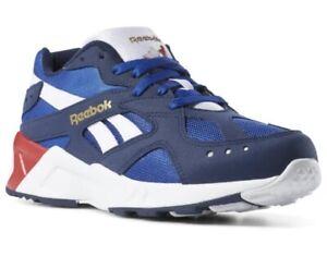 Reebok Aztrek 96 mens size 9(Collegiate Navy/Collegiate Royal) shoes