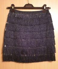 Black Show Girl/ Dance/ Tassel Skirt Size 8