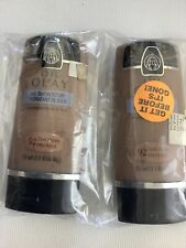 Oil of Olay Shine Control & All Day Moisture Foundation DARK HONEY 92  Lot Of 2