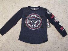 Chicago Bulls Nba Basketball Boys Long Sleeve Shirt 8