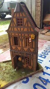 Playmobil vintage tudor style house / shop 3 story