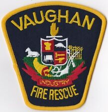 Vaughan Fire Rescue Department Ontario Canada patch
