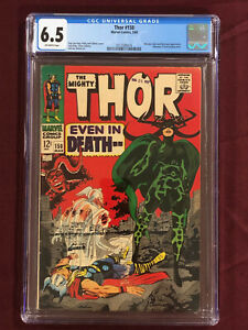 THOR 150 CGC 6.5 1968 STAN LEE JACK KIRBY Colletta Sinnott