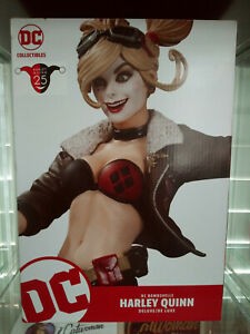 Harley Quinn Bombshells Deluxe Statue! DC Collectables!